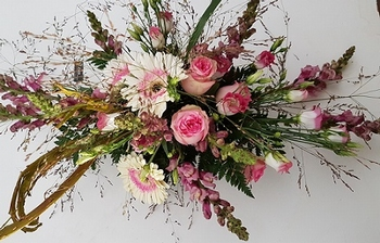 bloemstuk altaarstuk laag klein