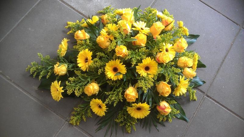 bloemstuk oranje-geel2